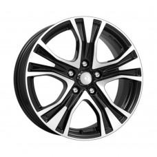 КиК Nissan Juke (КСr673) 7,0R17 5*114,3 ET47 d66,1 Алмаз-черный [63570]